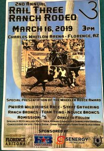 2019 – RAIL 3 RANCH RODEO – Professional Wild Horse Racers